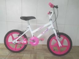 Bicicleta aro 16 nova menina