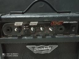 Cubo para guitarra Strinberg 12RMS com Overdrive