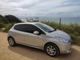 Vendo ou Troco Peugeot 208 Active Pack 2015 prata
