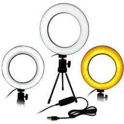 Ring Light de mesa. 16cm 6 polegadas
