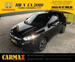 Honda HR-V Automática Cvt de 7 Velocidades Único Dono Muito Nova