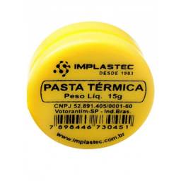 (WhatsApp) pasta térmica 15g - implastec