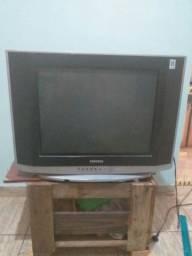 TV de 21 polegadas de turbo