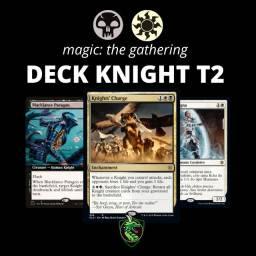 Deck Knight T2 Campeonato Magic the gathering 16 Cartas Raras
