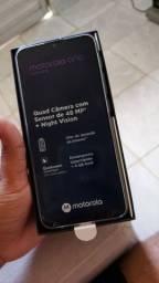 Motorola One Fusion 64/4 completo na garantia