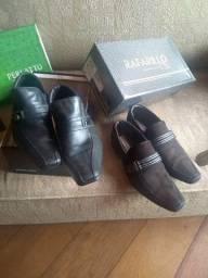 R$ 130 Urgente dois sapatos lindos e de marcas famosa só 130 reais