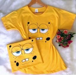 T Shirt 100% Algodão