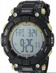Relógio esportivo armitron Adventure masculino AD / 1010blk