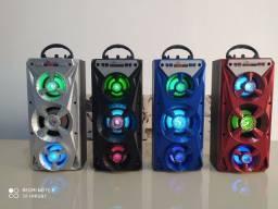 Caixa de som Portátil Bluetooth Nova Entregamos