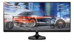 Monitor LG Ultrawide 25um58 Led 25 Preto 110v/220v
