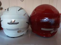 02 capacetes Pro Tork usados