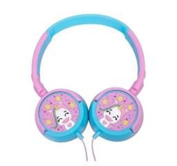Fone Com Fio Headphone Oex Kids Hp304 Unicornio