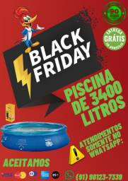 Super Black Friday! Piscina MOR de 3400 Litros!