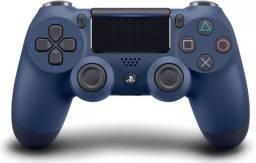 Controle Dualshock 4 Midnight Azul - PS4 ( Novo + Nota Fiscal + 12 Meses Garantia )