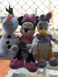 Pelúcias Disney - minnie, margarida ou olaf