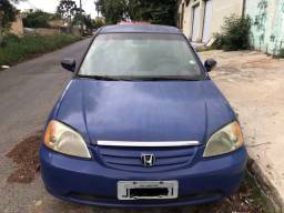 Civic lx 1.7 2002 automático