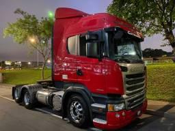 Scania Highiline R 440 Trucado 6x2 ano 2014 Lindo Unico Dono