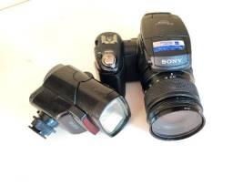 Câmera Sony R-1 + Flash