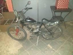 Vendo ou troco  bicicleta motorizada top