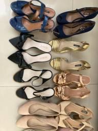 Vendo sapatos de marca Arezzo /Schütz