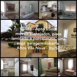 Apto planejado - Altos Vila Nova Itu/SP