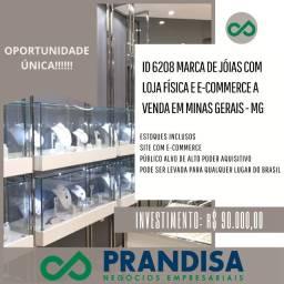6208 Loja de jóias com e-commerce a venda em Minas Gerais