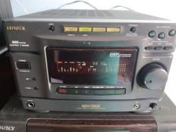 Aiwa nsx-d606 raro importado