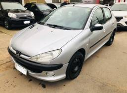 Peugeot 206 1.4 ano 2008 COMPLETO barbada ent.R$990 + 36xR$433