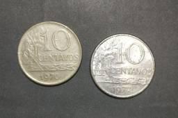 Moeda Antiga - Centavos