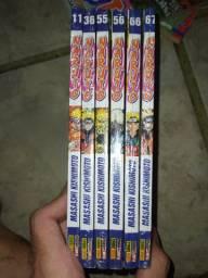 Naruto Pocket mangás lacrados