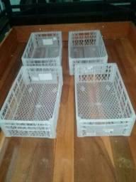 4 caixas organizadoras cada RS 15