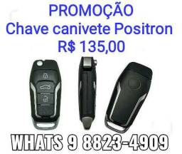 Chave canivete Positron