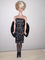 Boneca Barbie repro Mattel Silken Flame