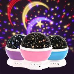 Abajur Luminária Céu Estrelado ????<br><br>Traga o céu estrelado para dentro de casa!