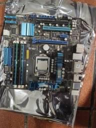 Kit Placa Mãe 1155 + I7 3770 + 12GB ddr3 + 250 ssd