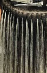 Promoção mega hair de Queratina mais selagem