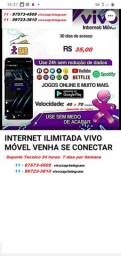 Internet móvel ilimitada vivo