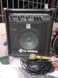 Caixa amplificadora LL audio