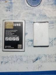 Duas baterias boa em bom estado pra vende logo.samsung e Blu..valor 60 reais