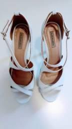 Sapato de Noiva em excelente estado - Tamanho 36