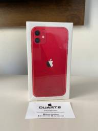 iPhone 11 Red 128 Gigabytes 1 Ano de Garantia