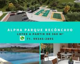 Alpha Parque, lotes a partir de 360 m², em Santo Antonio de Jesus, total infraestrutura