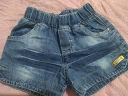 Short Infantil (Jeans)