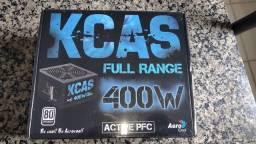 Fonte kcas 400w 80 plus para Pc