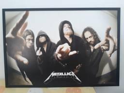 Quadro Metallica Wall Poster 94,5 x 64,4 cm