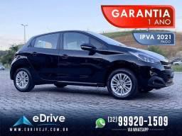 Peugeot 208 Active 1.2 Flex Mec. - 1 Ano de Garantia - IPVA 2021 Pago - Muito Lindo - 2020