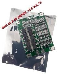 Bms 4S x 40 amper 16,8 volts