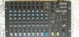 Mesa de Som Wattsom - 10 canais e entrada USB