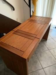Penteadeira de madeira maciça