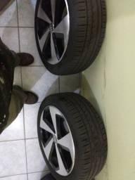 Rodas e pneus aro 17